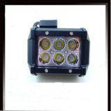 Heller doppelter Selbstzoll 18W des Fabrik-Preis-LED der Reihen-4 weg Arbeits-dem Licht von des Straßen-Auto-12V LED