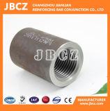 Accoppiatori d'acciaio meccanici del filetto di parallelo del tondo per cemento armato