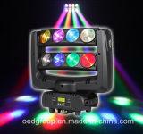 RGB LED que sacude la luz de la araña, lámpara de la etapa del LED