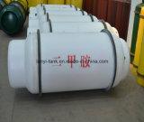 400L 염소 Mammonia 의 Liquied 가스를 위한 낮 중간 12bar 압력 탄소 강철 용접된 가스통