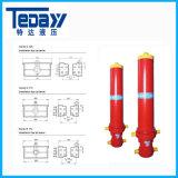 Quente-Vendendo o cilindro hidráulico telescópico de 5 estágios em China Manufactor