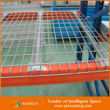 Palette Rack Inside Waterfall Galvanized Wire Mesh Decking pour Storage