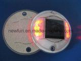 Vite prigioniera riflettente solare infiammante della strada degli occhi di gatto di sicurezza stradale IP68 LED