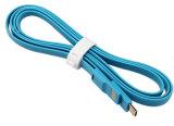 câble usb magnétique latéral simple plat de 100cm pour Samsung