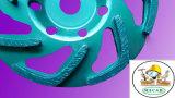 Venda quente! ! Alta qualidade roda de moedura do copo do diamante de 4 polegadas