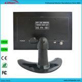 Affaire en métal de système de sécurité 8 moniteur de télévision en circuit fermé de l'affichage à cristaux liquides Monitor/BNC de télévision en circuit fermé de pouce