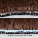 """cabelo desenhado do cabelo da fita de 20 """" /2.2g/Piece Ombre dobro não processado"""