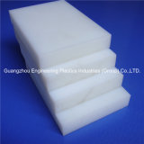 Белый трудный лист пластмассы UHMWPE