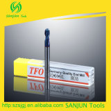 2/4 Flutes Carbide Ball Nose End Mill