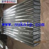 Tôle d'acier galvanisée ondulée avec le prix