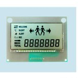 Htn Monochrome LCD 7 Segment Digital LCD Display Module