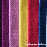 Tela colorida del sofá del poliester de las ventas al por mayor con alta calidad