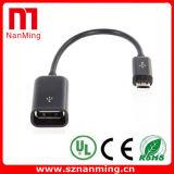 USB OTG Micro5p USB에 마이크로 USB 케이블 2.0 여성