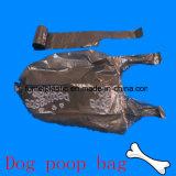 De aangepaste Biologisch afbreekbare Plastic Vuilniszak van het Afval van het Achterschip van de Hond op Broodje