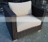 庭の部門別の屋外の枝編み細工品か藤のソファーはセットした(MTC-189)
