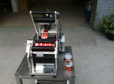 Macchina imballatrice della bottiglia rotonda Shippingmt-50 dell'etichettatrice dell'etichettatore della bottiglia semiautomatica libera della macchina con la stampante