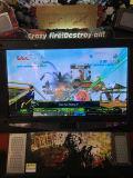 55 pouces après destruction des enfants d'attaque tirant le jeu électronique