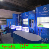 DIY Fabric Trade Show Exhibition Stand 디자인 및 Building