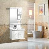 Белая тщета ванной комнаты, дешевый шкаф ванной комнаты PVC
