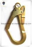 Crochet galvanisé de rupture en métal pour le harnais