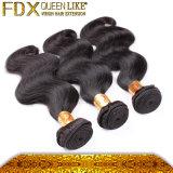 Extensões indianas do cabelo da qualidade do cabelo do Virgin cabelo humano das melhores (FDX-SM-5)