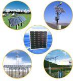 150W TUVは、 / CE / MCS / IECは単結晶太陽電池モジュールを承認しました