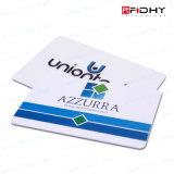 Smart card plástico do PVC RFID das amostras livres (HF e LF)