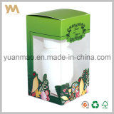 Rectángulo de empaquetado plegable de papel del arte acanalado del regalo
