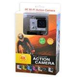 Разрешение кулачка 4k действия водоустойчивое с камерой WiFi DV