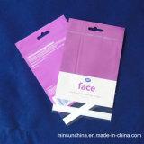 Auto-réenclenchable Poly PE Clear Zipper Bag Sac en plastique Zip Lock Ms-Lp041