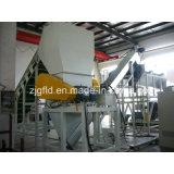 Máquina de reciclaje automática de la limpieza de la película del PE de los PP que se lava