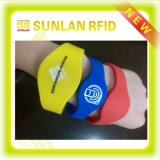 Printed all'ingrosso Custom 125kHz Proximity RFID Adjustable Silicon Bracelet Wristband con Logo Price per la piscina