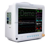 Monitor paciente certificado da máquina médica de uma venda de 12.1 polegadas Ce quente