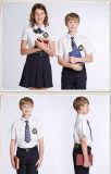 Uniforme scolastico 2016 di Ployester di promozione stampato autunno dell'OEM