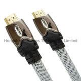 이더네트와 금에 의하여 도금되는 연결관을%s 가진 100FT 고속 HDMI 케이블