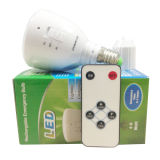 luz de bulbo Emergency recargable de 4W 7W LED con la base E27