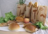 Eco-Friendly 음식 급료 브라운 Kraft 종이 Bag/Bread 부대