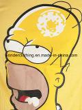 باردة رسم متحرّك تصميم طباعة باع بالجملة رجال قطر [ت] قميص