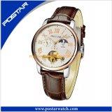 2016熱い販売の自動ステンレス鋼の腕時計
