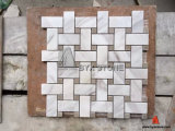 Wall Decoration를 위한 새로운 Design White Marble Mosaic Tile