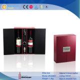De bruine Verpakkende Doos van de Wijn