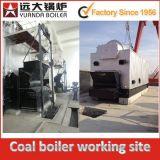 Henan Yuanda che esegue stabile la caldaia a vapore del carbone dell'alimentatore di griglia Chain di Dzl 6ton