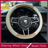 Buon coperchio di cuoio materiale del volante dell'automobile di nuovo disegno