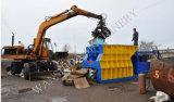 Desecho y máquina del reciclaje para las chatarras