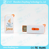 Миниый пластичный сползая USB Pendrive (ZYF1272)