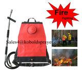 森林火災の戦いのためのFlit様式のスプレーヤーが付いている20L水霧のバックパック