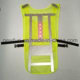 Maglia di riciclaggio della maglia riflettente di sicurezza dei 4 LED
