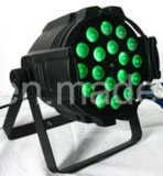 DMX512 18*15W RGBWA UV 6 in-1 LED Zoom PAR Light