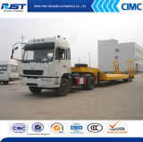 40t 낮은 Bed Semi-Tralier/Flatted Trailer