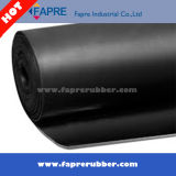 NBR Rubber Sheet / Industrial Oil-Resistant Black NBR Rubber Sheet / Rubber Flooring Mat.